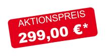 Aktionspreis 299,00 €
