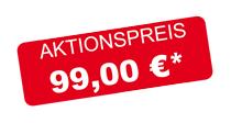 Aktionspreis 99,00 €