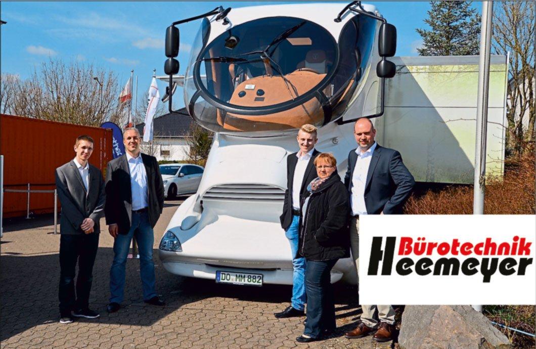 Foto Beitrag - BROTHER-Truck mit innovativen <br> Lösungen bei BÜRO PERFEKT