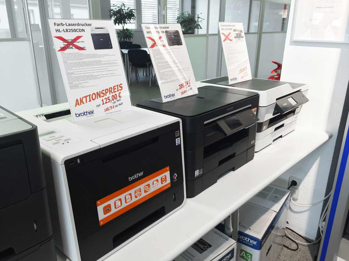 Heemeyer Bürotechnik, Kopierer_Buende