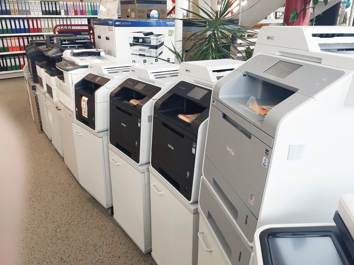 Kopierer Fax Drucker Buende 7372 - Showroom