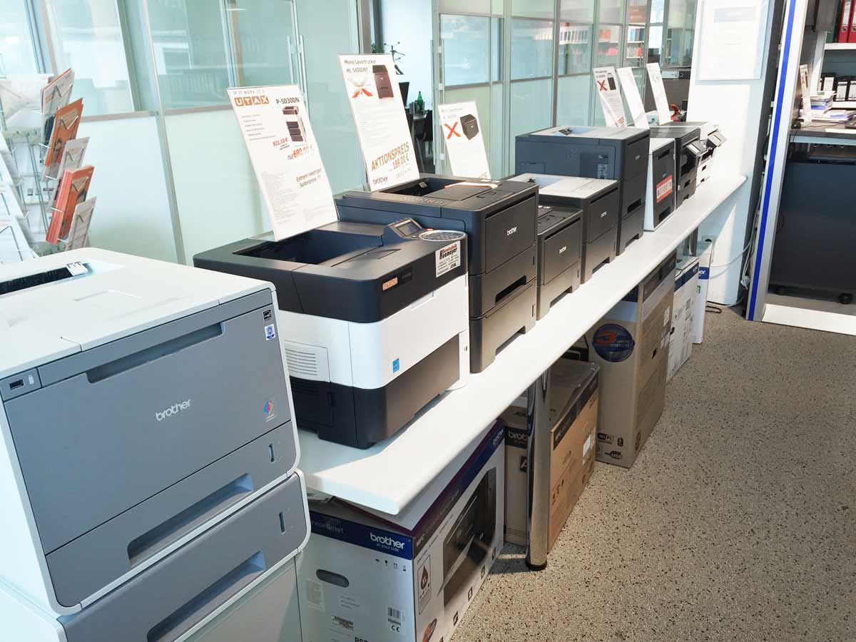 Kopierer Fax Drucker Buende 7373 - Showroom