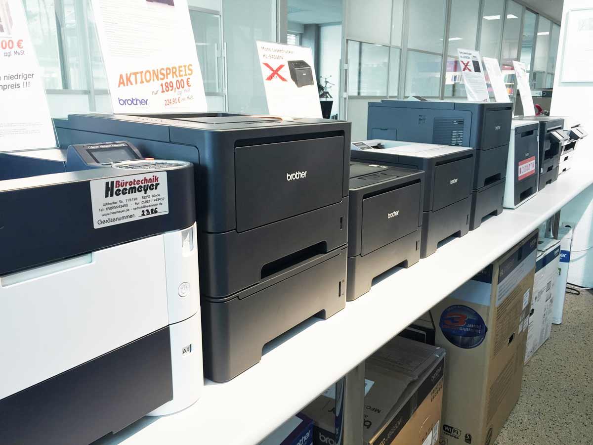 Kopierer Fax Drucker Buende 7374 - Showroom