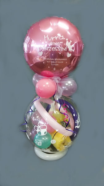 Büro Perfekt, Ballondo, Verpackungsballon Geburt