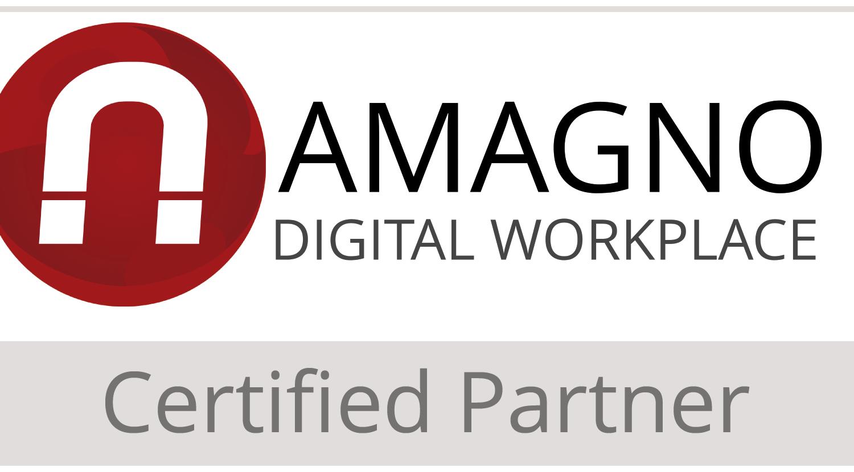 Bürotechnik Heemeyer, AMAGNO Certified Partner Logo